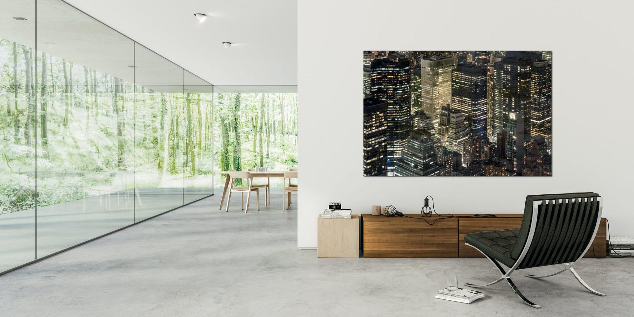 PIQT Fotokunst: Bilder können Räume verwandeln
